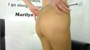 Pantyhose cam show with DaisyPearl