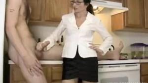Curious Step Mom Finds Cum Pills Do Work