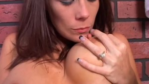Super cute busty MILF imagines you are fucking her juicy pussy