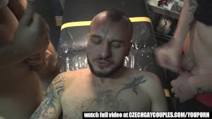 Wild sex for money in a tattoo studio