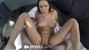 POVD - Hot hitchhiker Ashley Adams knows how to fuck