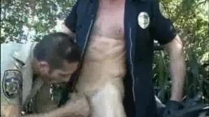 Outdoor Ass Fucking Cops