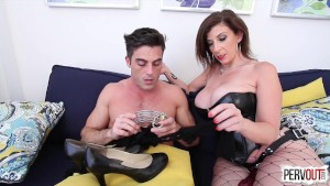 Future Son in Law Test with Sara Jay and Lance Hart (Pegging-Strap On)