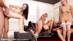 Ass Fucking Orgy