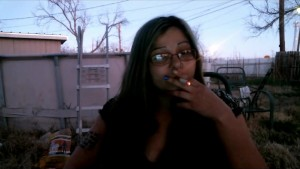 smoke with me as the sun goes down