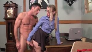 Riley Reyes + Lance Hart make some silly ass porn PEGGING BATMAN SENSUAL FEMDOM
