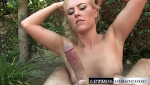 Summer can't wait to have cock in her asshole