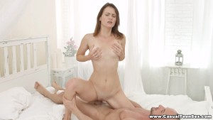 Casual Teen Sex - Hot sex on a beautiful day