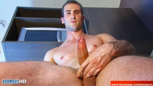 Real str8 french repair guy in a gay porn !