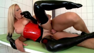 A Dildo A Day Keeps The Doctor Hard - DDF Productions