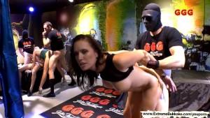 Fake Tits Sexy Milf and Hardcore Pounding - Extreme Bukkake