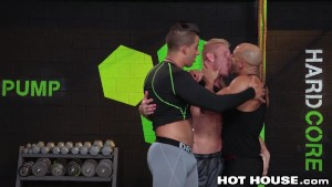 HotHouse Muscle Hunks Fuck Hard 3 Ways