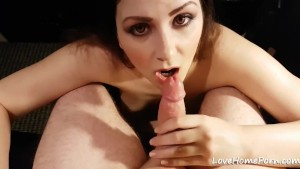 Lewd Girl Extracts His Seeds With An Amazing Blowjob