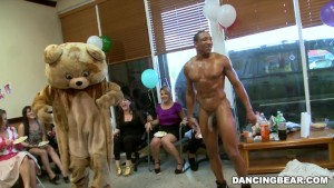 Alaina s Dancing Bear Birthday Fiesta with Big Dick Male Strippers