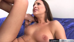 Ashley Adams rides a big dick and has her tits fucked