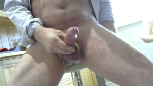 Tasting my precum & cum from my Rampant Shaved Cock.mp4