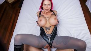 VR Porn Dino Crisis Cosplay Busty Regina POV Blowjob and Curvy Cowgirl Fuck