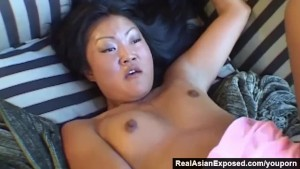 RealAsianExposed - Cute Lucy sodomized by her bf