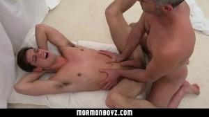 MormonBoyz-To join priesthood cult, Mormon boy into orgy