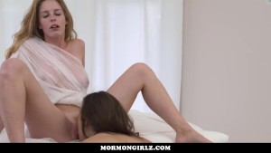 MormonGirlz- Very Yoing girls first lesbian experience