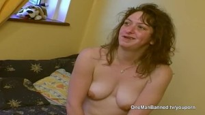 Real council estate slut willing to do anal on camera