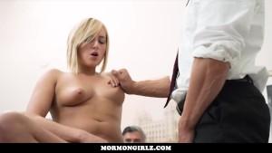 MormonGirlz-Watching his step daughter be taken advantage of