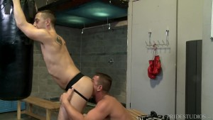 ExtraBigDicks Workout Buddy Eats Ass and Tops Hunk