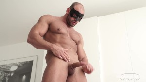 Maskurbate Abs, Pecs and Meaty Cock- Private Showing