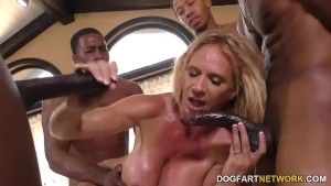 Busty Stepmom Brooke Tyler Interracial Gangbang