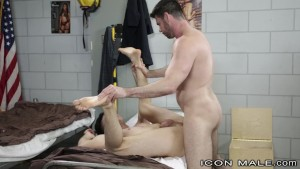 Fireman Billy Santoro Catches colleague Masturbating at the Station