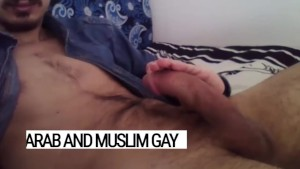 Hillal, THE arab gay dick. Legendary stud is never tired of gay blowjobs