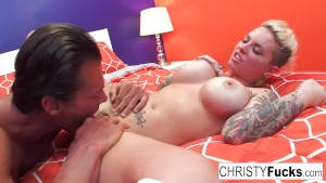 Nick Manning fucks tattooed pornstar Christy Mack