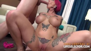 Anna Bell Peaks - Lusty Threesome (POV)
