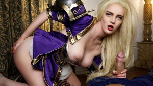 Vrcosplayx jaina proudmoore bonds your dick with her pussy 2