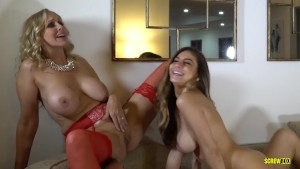 Busty Stepmom Sex Educating Offspring In Threesome Free Porn Videos Youporn