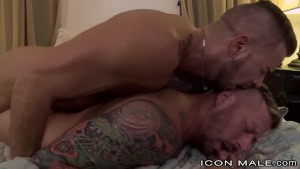 Some Rough Sex With Sexy Hairy Inked Up Muscle Hunk Daddies