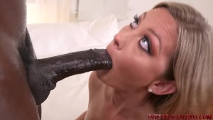Addison Lee pounded by big black cock