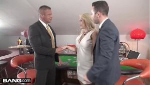 Glamkore - Christina Shine double penetration threesome