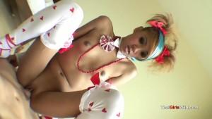 Emo Thai princess gets stuffed with cock