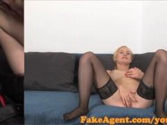FakeAgent Sexy waitress shows...