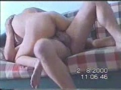 Hubby recording sex with his wife for home video
