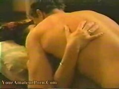 Sexy amateur gets banged hard in bedroom