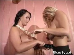 Bea Flora and Ines Cudna - StripPoker