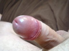 Wank with slow motion no hands cumshot
