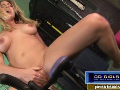 Allison Drilled By 3 Machines and Vibrator