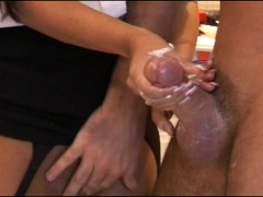Cum in a hand is worth two in the bush