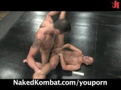 Bad guys John Stone&Spencer Reed fighting naked