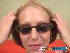 Ryan Star gets her Glasses Jizzed Facial Cum