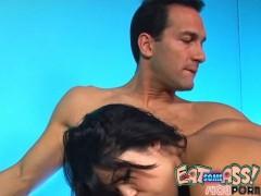 Sweet Girl Licks Mans Asshole ass licking jimjob