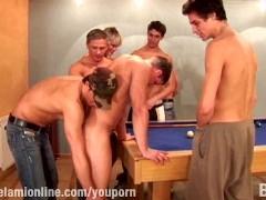 Pool Table Orgy